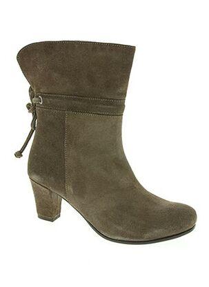Bottines/Boots marron BAXXO pour femme