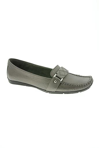johann chaussures femme de couleur gris