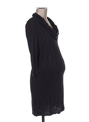 Robe courte noir COLLINE pour femme