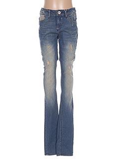 Jeans skinny bleu GARCIA pour fille