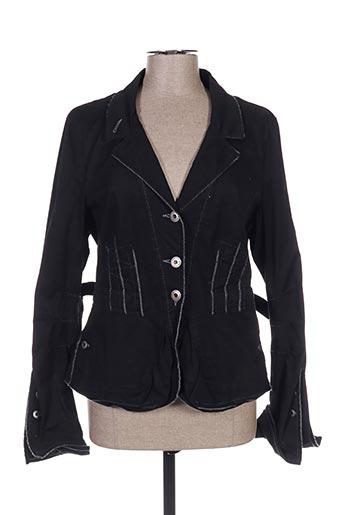 Veste casual noir ICONOCLAST pour femme