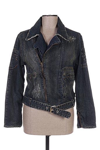 Veste en jean bleu ELLUS pour femme