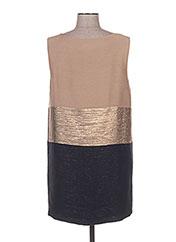 Robe mi-longue marron ELLA LUNA pour femme seconde vue