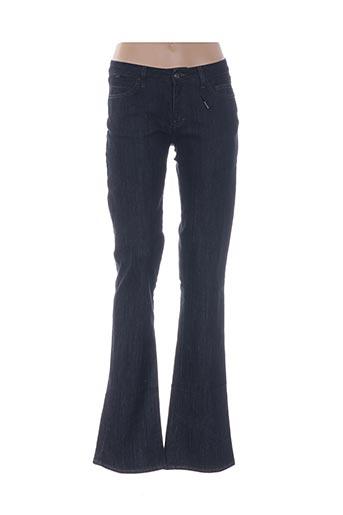 Pantalon casual bleu ELLUS pour femme