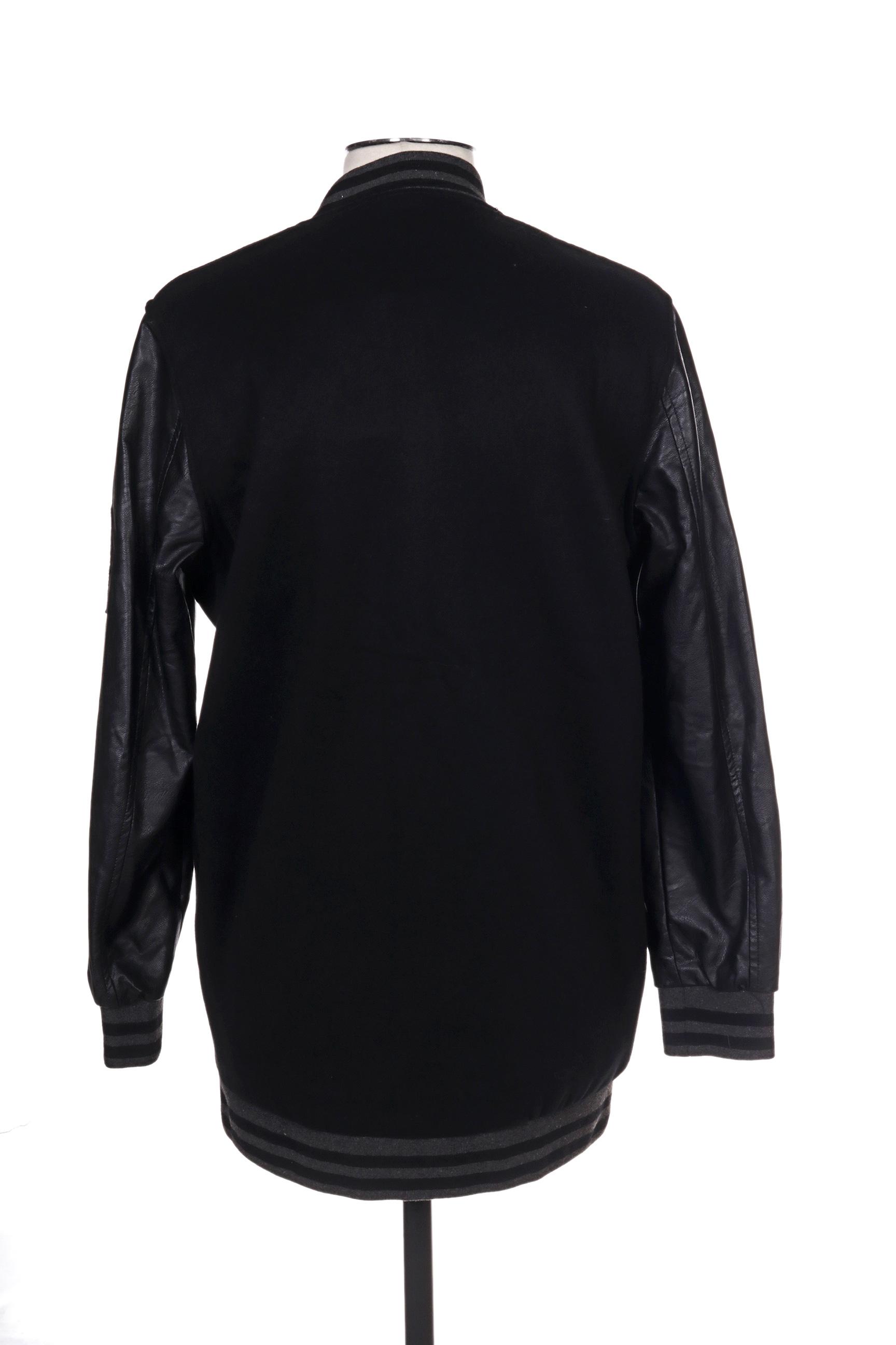 Osley Blousons Homme De Couleur Noir En Soldes Pas Cher 1299512-noir00