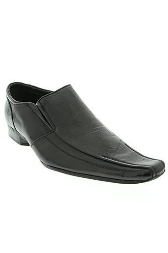 galax chaussures homme de couleur noir