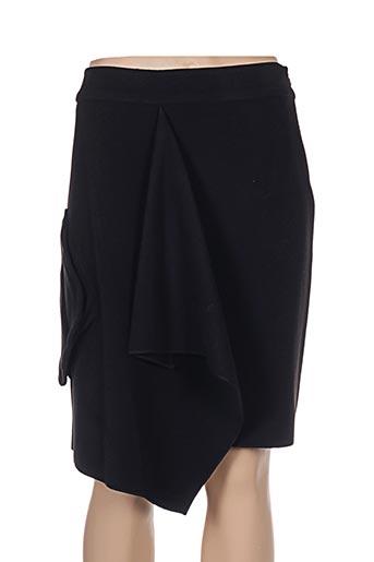 Jupe mi-longue noir APRIORI pour femme