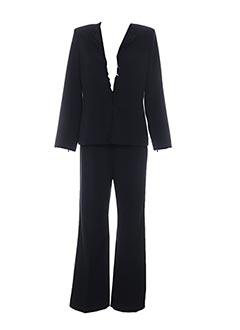 Veste/pantalon noir CHRISTIE DE LA RUE pour femme