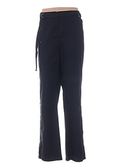Pantalon casual noir ELENA MIRO pour femme