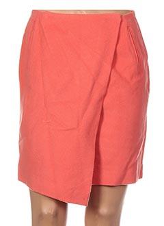 Jupe courte orange GANT pour femme