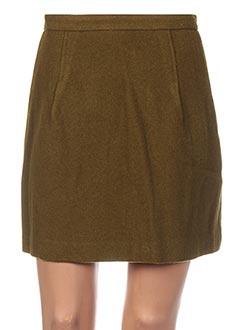 Jupe courte vert GANT pour femme