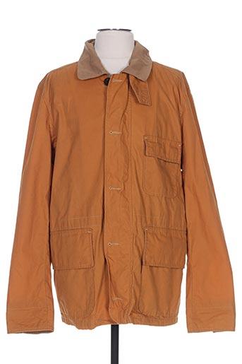 Veste casual orange GANT pour homme