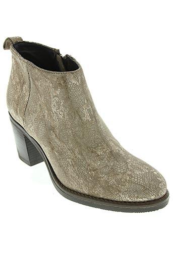morena gabbrielli chaussures femme de couleur beige