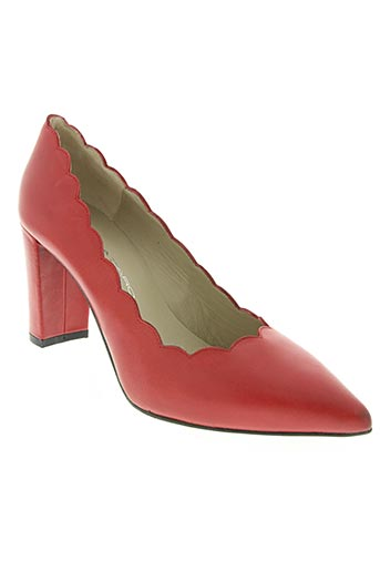 Escarpins rouge BRENDA ZARO pour femme