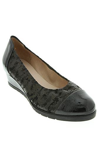sabrinas chaussures femme de couleur noir