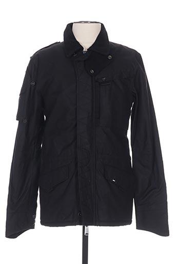 Manteau court noir DENHAM pour homme