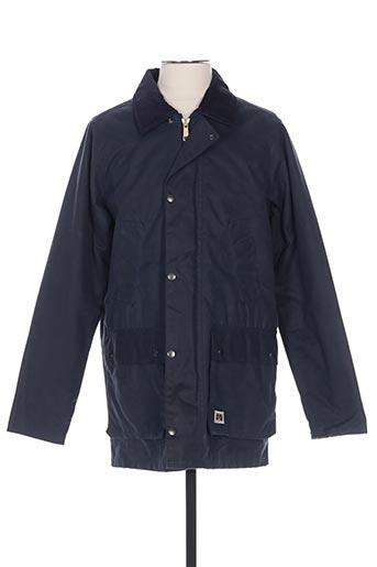 Veste casual bleu BRIXTOL pour homme