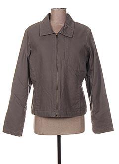 Veste casual gris DDP pour femme