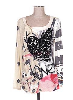 T shirts De Marque DESIGUAL En Soldes Pas Cher Modz