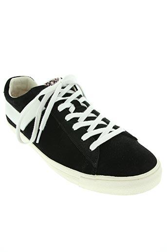 pony chaussures homme de couleur noir