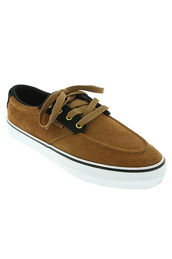 etnies chaussures homme de couleur marron