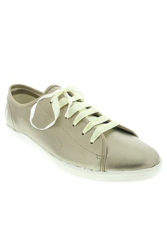 fred perry chaussures femme de couleur beige
