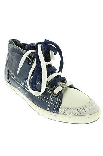 oxs chaussures femme de couleur bleu