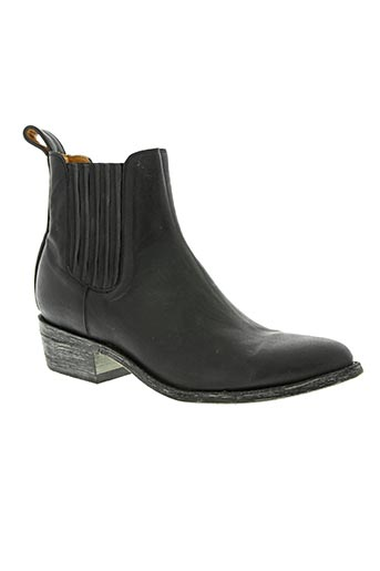 mexicana chaussures homme de couleur noir