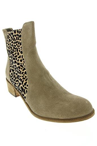 nimal chaussures femme de couleur beige