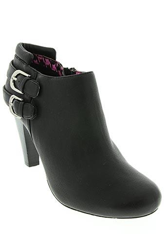 chocolate schubar chaussures femme de couleur noir