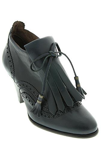 sessun chaussures femme de couleur bleu