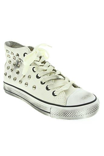 star chaussures homme de couleur blanc