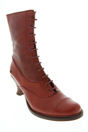 neosens chaussures femme de couleur rouge