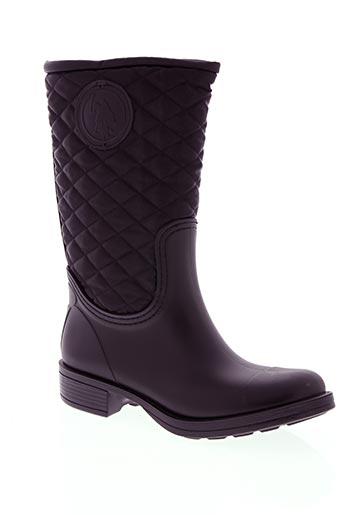 u.s. polo assn chaussures femme de couleur noir