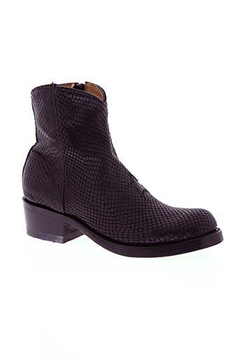 mexicana chaussures femme de couleur noir