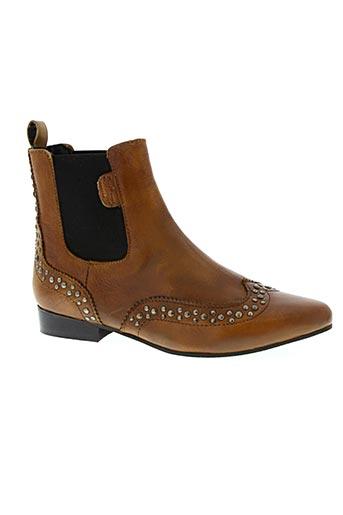 pepe jeans chaussures femme de couleur marron