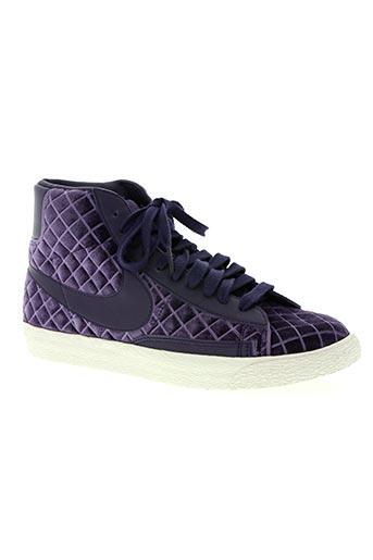 nike chaussures femme de couleur violet