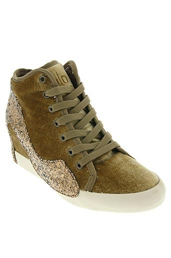 olo chaussures femme de couleur beige