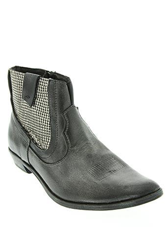 Bottines/Boots noir CRIME pour femme