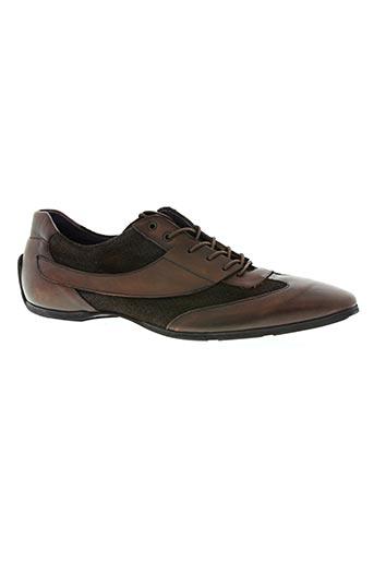 bkr chaussures homme de couleur marron