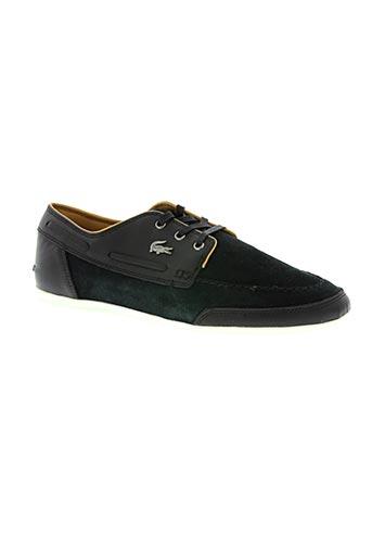 lacoste chaussures homme de couleur bleu