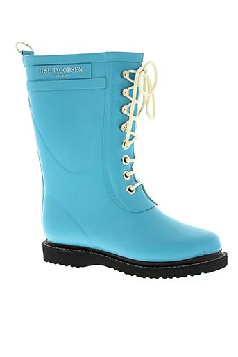 ilse jacobsen chaussures femme de couleur bleu