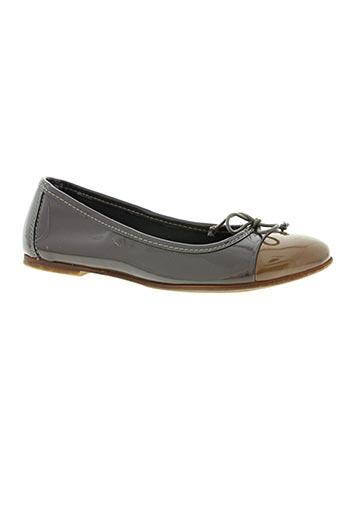 bisgaard chaussures femme de couleur marron