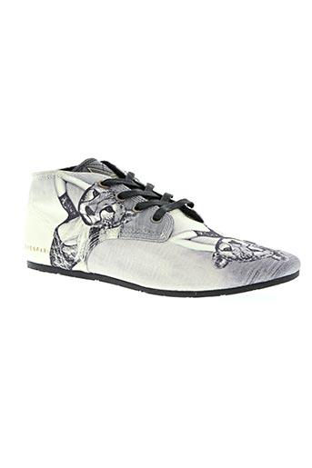 little marcel chaussures homme de couleur gris