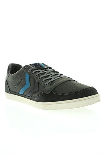 hummel chaussures femme de couleur gris