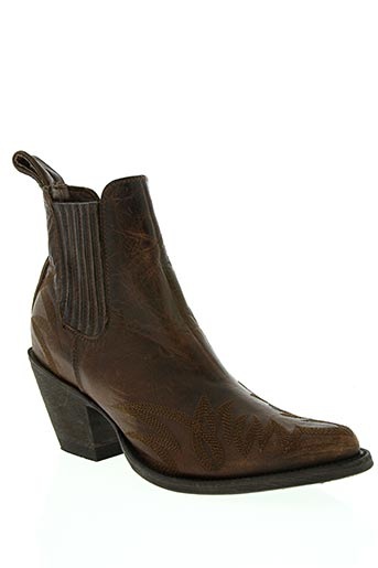 hand made chaussures femme de couleur marron