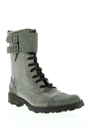 Modz Gris00 Chaussures De Gris En Bottinesboots Soldes Pas Cher Couleur 1311950 Ikks iwTZOkXlPu