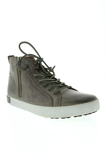 blackstone chaussures homme de couleur gris