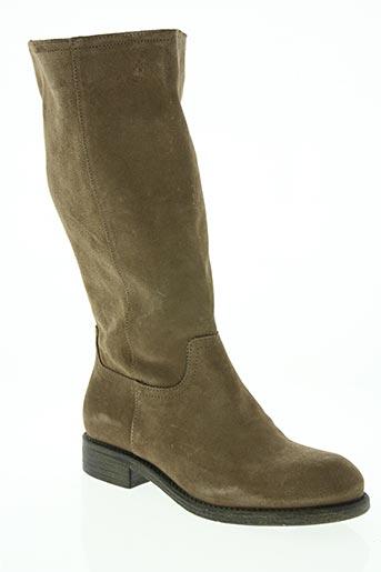 sms chaussures femme de couleur beige