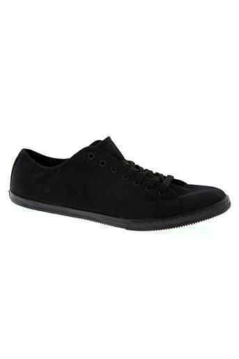 converse chaussures homme de couleur noir